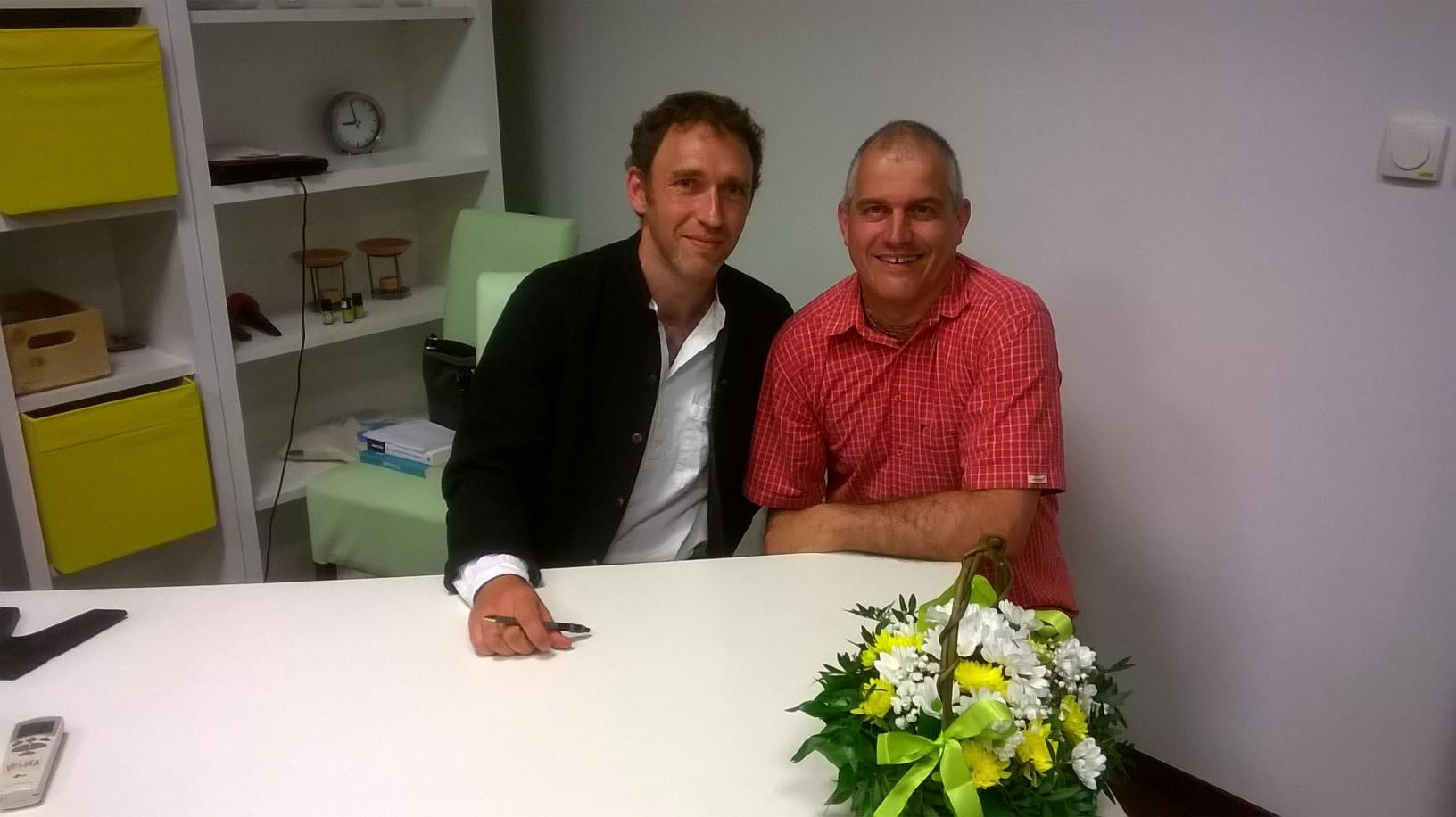 S Romanom Krznarićem