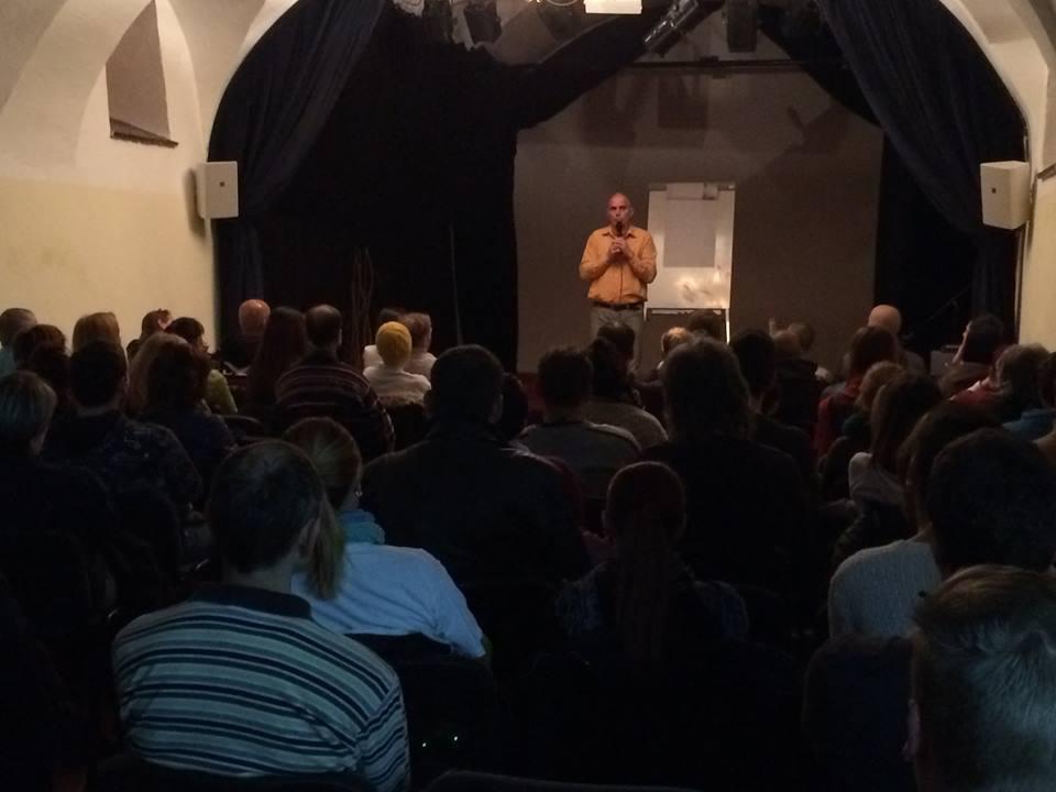 Predavanje u Sevnici (SLO)